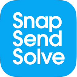 Snap Send Solve Logo 250x